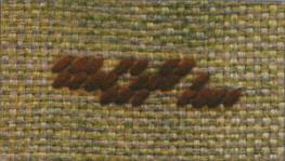 Вышивание по счету нитей на ткани лен и полотне.